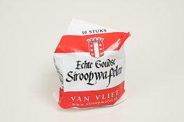 Van Vliet echte Goudse Stroopwafels, 10 stuks