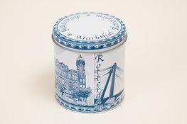 Stroopwafelblik Rotterdam Delftsblauw