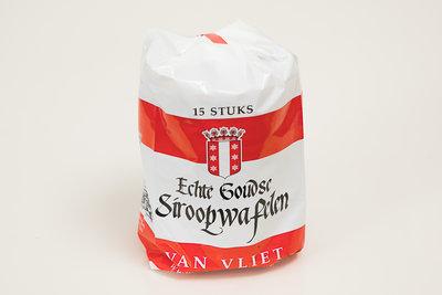 Van Vliet Stroopwafels, 15 stuks